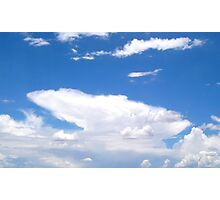Distant Monsoon  (Type-Cumulonimbus) Photographic Print