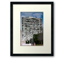 Molten Waves - Sydney - Australia Framed Print