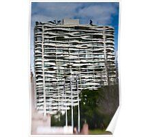 Molten Waves - Sydney - Australia Poster
