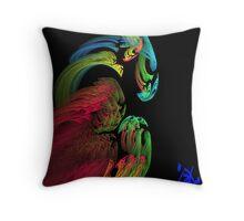 Apophysis Dragon Throw Pillow