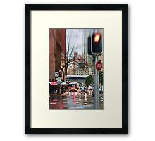 Rain, Rain Go AWAY!  Sydney - Australia Framed Print