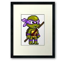 Donatello Does Machines Framed Print