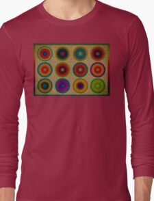 Colourful canvas Long Sleeve T-Shirt
