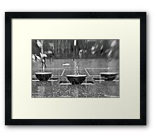 Water Water Everywhere Nor Any Drop To Drink - Sydney - Australia Framed Print
