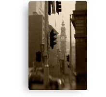 General Post Office Clock Tower - Sydney - Australia Canvas Print