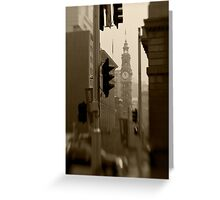 General Post Office Clock Tower - Sydney - Australia Greeting Card