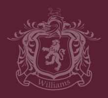 Williams Family Crest (Light) by Jay Williams
