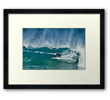 Close Out - Maroubra Beach - Sydney - Australia Framed Print