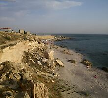 Cliffs Over the Caspian Sea by KZBlog