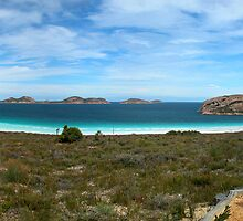 Lucky Bay Panorama by Joy & Rob Penney