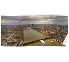 The Thames & London Panorama Poster