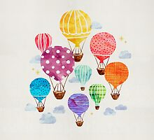 Hot Air Balloon by weirdoodle