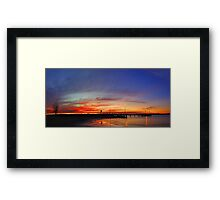 Applecross At Sunset  Framed Print