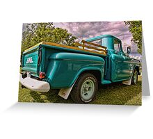 1958 GMC Pick-Up Greeting Card