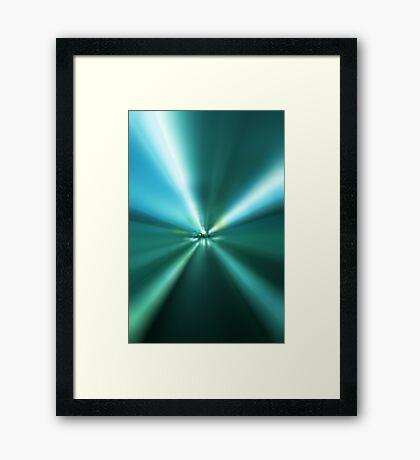 Light Speed Framed Print
