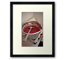 Saucy Framed Print