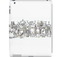 Many Robots. iPad Case/Skin