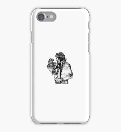 Jim Henson and Kermit the Frog iPhone Case/Skin