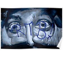 Graffiti eyes open wide Poster