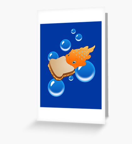 Pudge the Fish Greeting Card