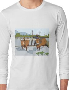 Farmer. Long Sleeve T-Shirt