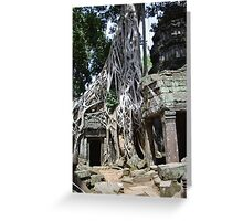 Earthbound - Ta Prohm Greeting Card