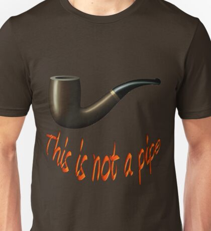 This Is Not A Pipe! Unisex T-Shirt