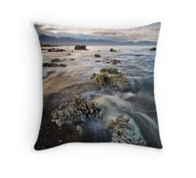 Rock Wraiths at Dusk Throw Pillow
