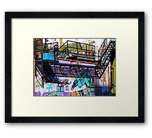 NYC Street Wall Art [University Place, New York City] Framed Print