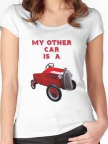 My Other Car Is A...... Women's Fitted Scoop T-Shirt