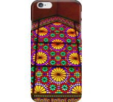 Window of Flowers - Arg of Karim Khan - Shiraz - Iran iPhone Case/Skin