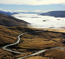 Road to Cardrona by Charles Kosina