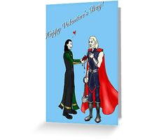 Thor and Loki: Have a Heart (Valentine's Card)  Greeting Card