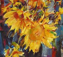 N. Feshin Sunflowers (author's copy) by tensil