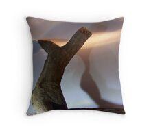 wood, you dance..2 Throw Pillow