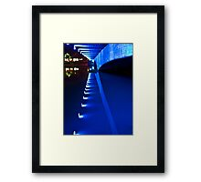 Under Ferdowsi Bridge - Esfahan - Iran Framed Print