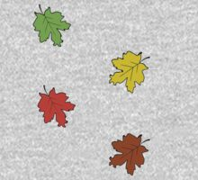 Leaves Changing during the four seasons by Sam Kirby