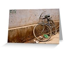 Sweet wheels Greeting Card