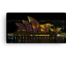 The Leopard - Sydney Opera House - Australia Canvas Print