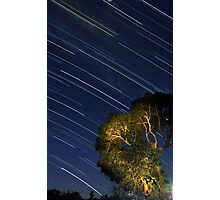 Star Trails from Home Photographic Print