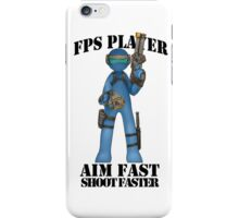 GAMER - FPS GENRE iPhone Case/Skin