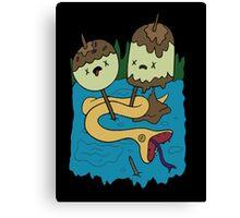 Princess Bubblegum's Rock T-shirt Canvas Print
