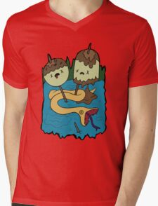 Princess Bubblegum's Rock T-shirt Mens V-Neck T-Shirt