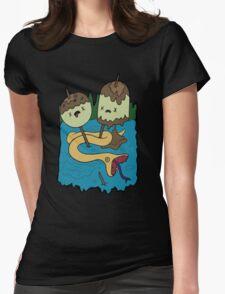Princess Bubblegum's Rock T-shirt Womens Fitted T-Shirt