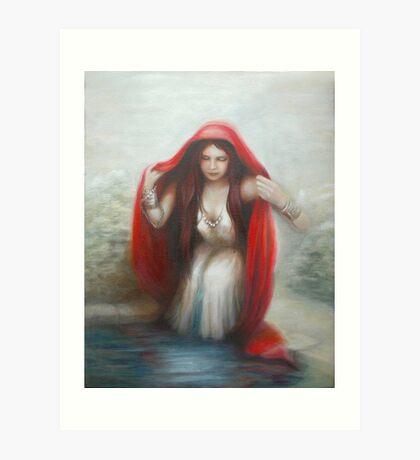Magdalen Art Print