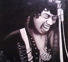 Jimi Hendrix by jamesmcnulty