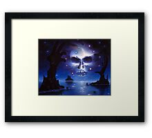 Mirrored Fate Framed Print