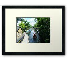 Along Little Venice. Framed Print