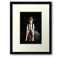 Playing Dress-Up 3 Framed Print
