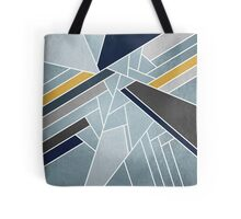 Soft silver/blue/navy/gold Tote Bag